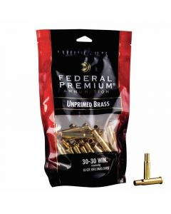 Federal Premium 30-30 WIN Unprimed Brass Cases - 50 Pack