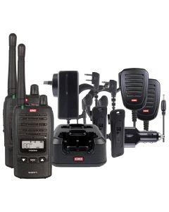 GME TX6160TP 80CH 5/1Watt UHF CB Handheld Waterproof Radio Twin Pack