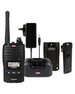 GME TX6160X 80CH 5/1Watt UHF CB Handheld Waterproof Radio