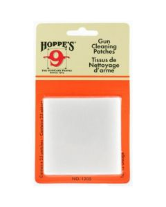 Hoppe's (1205) Woven Gun Cleaning Patches 25 Pack - Suits 16 & 12 Gauge Shotgun