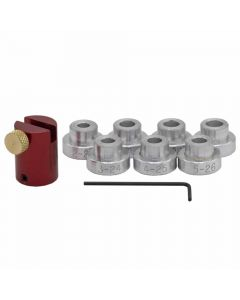 Hornady Lock-N-Load Bullet Comparator Basic Set With 7 Inserts