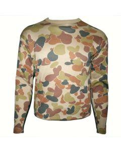 HUSS Long Sleeve T-Shirt - Auscam Camo