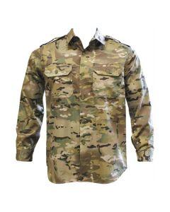 HUSS Long Sleeve Army Shirt - Multicam