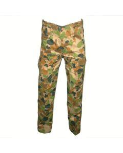 HUSS M-25 Kids Cargo Trousers - Auscam Camo