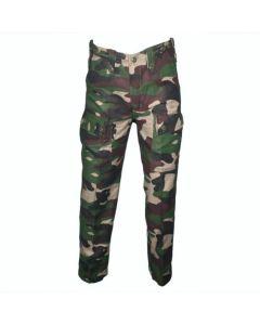 HUSS Cargo Trousers - Woodland Camo