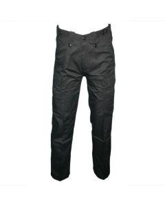 HUSS Men's Security Cargo Trousers - Black