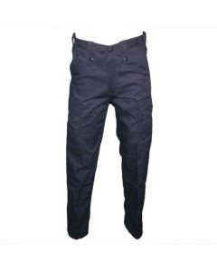 HUSS Men's Security Cargo Trousers - Navy Blue