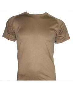 HUSS Tactical Quick Dry Under Shirt - Khaki