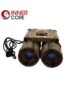 Inner Core 10x25 Compact Rubber Coated Binoculars