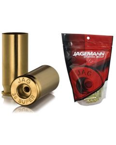 Jagemann Unprimed Brass Cases 38 SUPER - 100 Pack (Small Pistol or Small Rifle Primer)