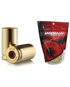 Jagemann Unprimed Brass Cases 9MM LUGER - 100 Pack (Small Pistol Primer)