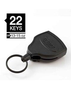Key-Bak SUPER48 Heavy Duty Retractable Keychain Reel w/Clip