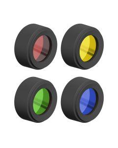 Led Lenser P6R, P7R Core & Signature Series 4-Colour Filter Set 35.1mm