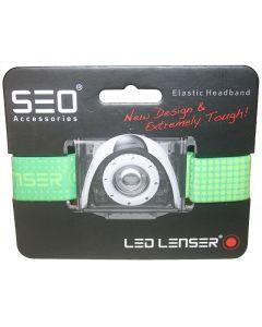 Led Lenser SEO Replacement Headband - Green