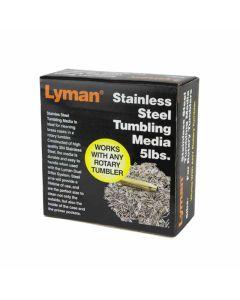 LYMAN Stainlees Steel Rotary Tumblers Media 5LBS