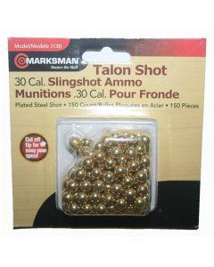 Marksman .30 Cal Steel Shot Slingshot Ammo