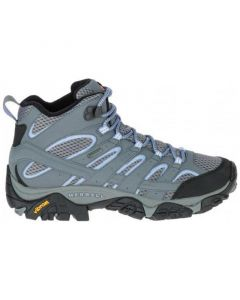 Merrell Moab 2 Mid WP Gore-Tex Women's Hiking Boots - Grey/Periwinkle