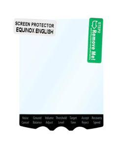 Minelab Equinox Screen Protector 5 Pack