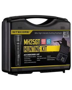 Nitecore MH25GT - 1000 Lumen LED Rechargeable Torch Hunting Kit