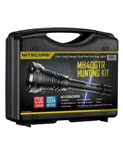 Nitecore MH40GTR - 1200 Lumen LED Rechargeable Torch Hunting Kit