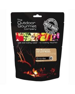 Outdoor Gourmet Wild Mushrooms & Lamb Risotto - Double Serve