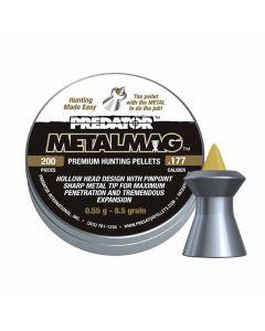Predator Metalmag Premium Air Rifle Hunting Pellets .177 cal 8.5 gr - 200 Pack