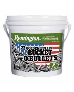 Remington 22LR 36GR HV HP Golden Bucket of Bullets - 1400 Rounds