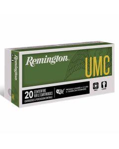 Remington UMC 223 REM 55GR FMJ 3240FPS - 20 Pack