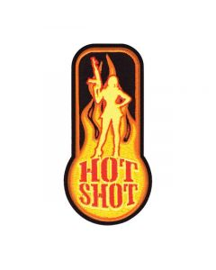 Rothco Hot Shot Velcro Backed Embroidered Morale Patch