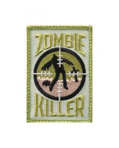 Rothco Zombie Killer Velcro Backed Embroidered Morale Patch