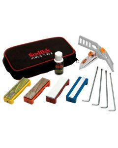 Smith's Deluxe Diamond & Stone Field Precision Knife Sharpening System