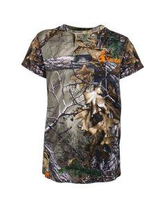 Spika Kids Trail T-Shirt - Realtree Xtra