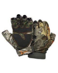 Spika Slimline Fingerless Hunting Gloves - Realtree Xtra
