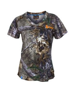 Spika Womens Trail T-Shirt - Realtree Xtra