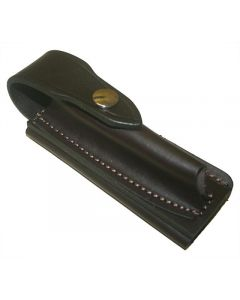Jcoe Stockman's Horizontal Genuine Leather Knife Pouch Large (125mm Knives)