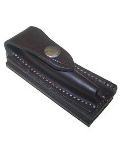 Jcoe Stockman's Horizontal Genuine Leather Knife Pouch Medium (100-105mm Knives)