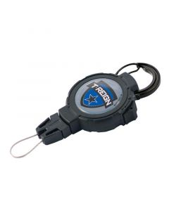 T-REIGN Retractable Gear Tether Carabiner - LARGE