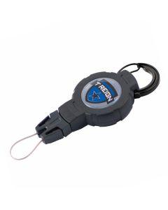 T-REIGN Retractable Gear Tether Carabiner - MEDIUM