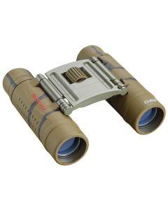 Tasco 10x25 Compact Rubber Coated Binoculars - Brown Camo
