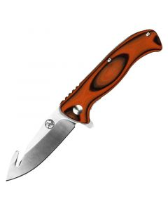 Tassie Tiger Knives Folding Gut Hook Skinning Knife With Pouch