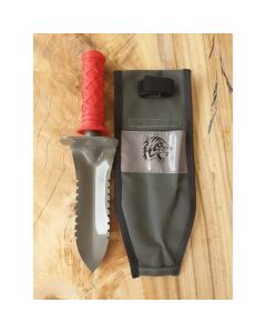 Tyger Stainless Steel Blade With Canvas Sheath