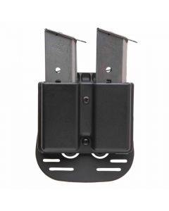 Uncle Mike's Kydex Double Magazine Case With Paddle - Suits Double Stack 9mm/.40 Cal Magazines