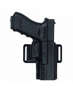 Uncle Mike's Size 21 Reflex Gun Holster - Suits Glock 17, 19, 22, 23, 26, 27, 34 & 35 - Left Hand