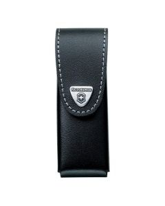 Victorinox Black Leather Knife Pouch - 2 to 4 Layer 4.0523.3