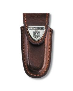 Victorinox Brown Leather Pouch for Classic Knives 4.0531