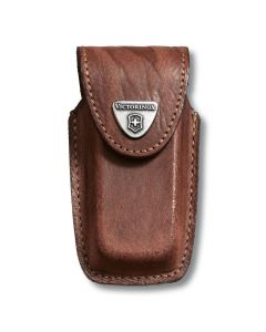 Victorinox Brown Leather Knife Pouch - 5 to 8 Layer 4.0535