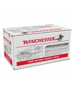 Winchester USA 223 REM 55GR Full Metal Jacket 3240FPS - 150 Pack