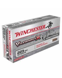 Winchester Varmint-X 223 REM 55GR Polymer Tip 3240FPS - 20 Pack