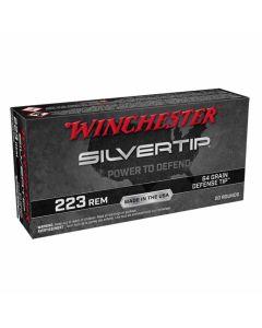 Winchester Silvertip 223 REM 64GR Defense Tip 2655FPS - 20 Pack