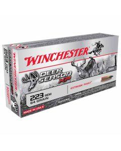 Winchester Deer Season XP 223 REM 64GR Extreme Point 3020FPS - 20 Pack
